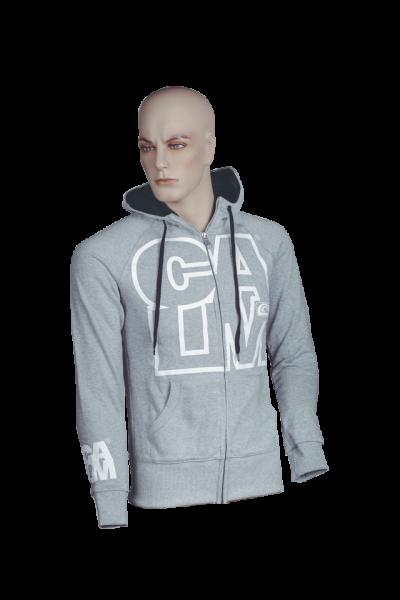 Zipper Outline - Sports Grey/Black