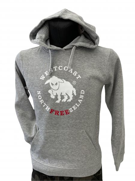 Westcoast Northfreezeland Kinder Hoodie - Grey Melange