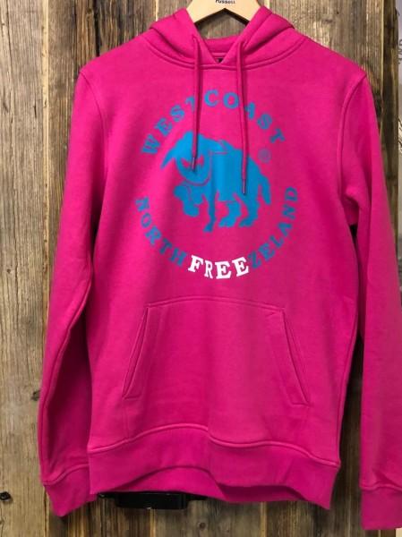 Westcoast Northfreezeland Hoodie - Hibiskus Pink