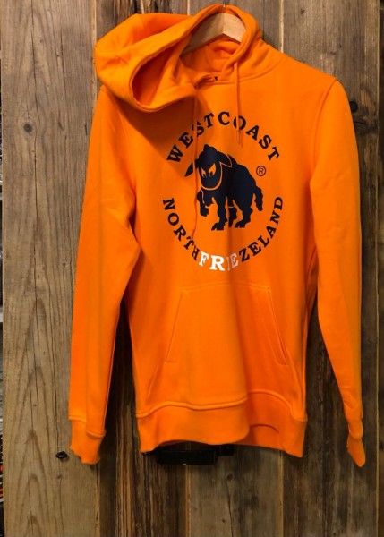 Westcoast Northfreezeland Hoodie - Paradise Orange