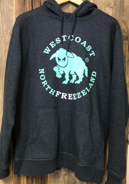 Westcoast Northfreezeland Hoodie - Charcoal