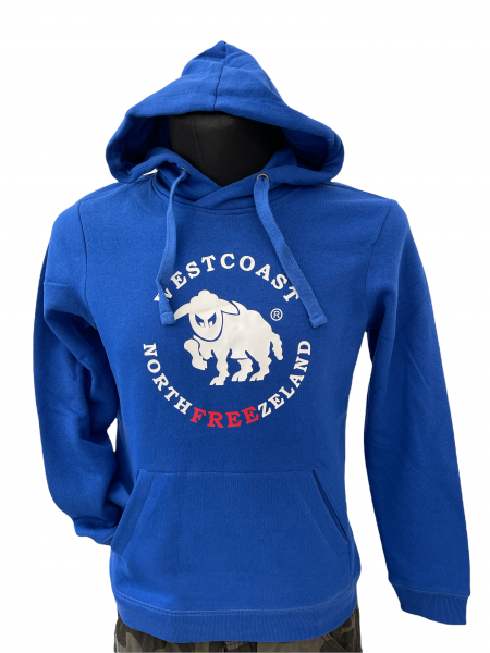 Westcoast Northfreezeland Kinder Hoodie - Royal Blue