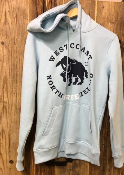 Westcoast Northfreezeland Hoodie - Ocean Blue