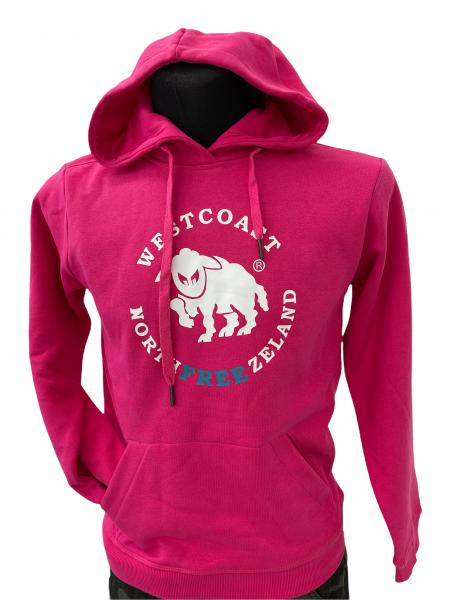 Westcoast Northfreezeland Kinder Hoodie - Fuchsia