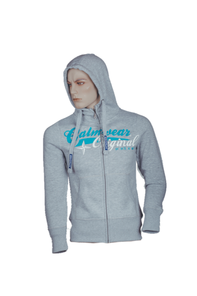 "Zipper ""Nordstern"" - Sports Grey"