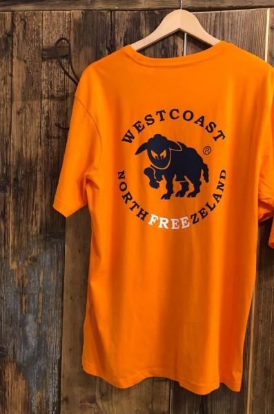 Northfreezeland T-Shirt - Sun Orange