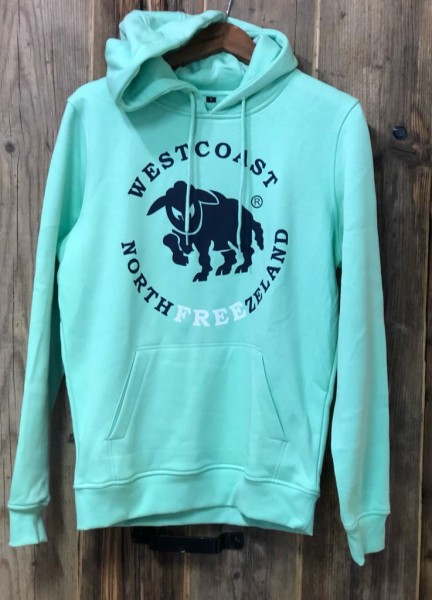 Westcoast Northfreezeland Hoodie - Neo Mint