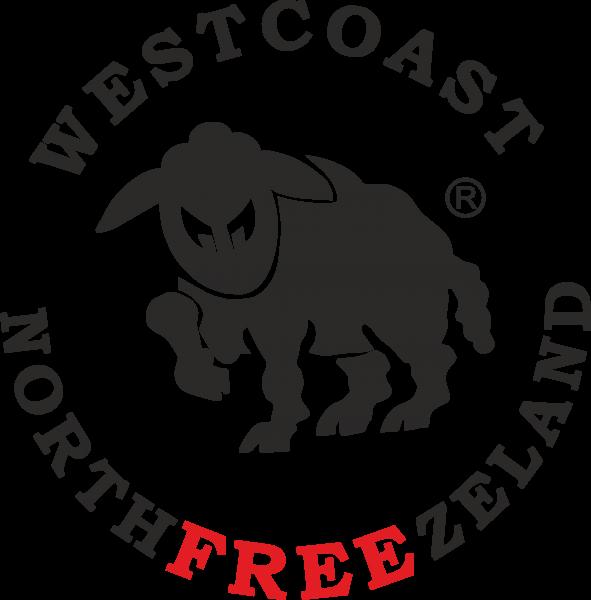 Westcoast Northfreezeland Aufkleber rund